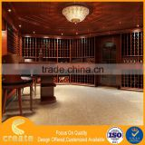 Guangzhou commercial wine shop decoration,wooden wine display cabinet