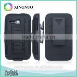 Heavy Duty Belt Clip Robot Case for Alcatel One Touch Evolve 2 OT4037 as Holster Kickstand Bumper Case