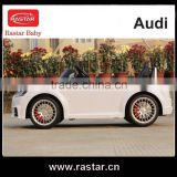 Beautiful design CE approved Audi TTS ride on toy car 12V kids car