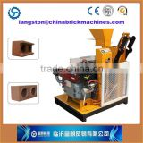 FL1-25 semi-automatic hydraulic interlocking manual brick making machine/rammed earth construction costs
