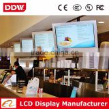 37 Inch Wall Mounted Digital Signage Touch Screen Wifi/3G/Android/Internet Lcd Advertising Display Wall Mounted Ad Media Player                                                                         Quality Choice
