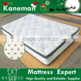 Natural orthopedic rubber latex mattress pocket spring mattress made in China                                                                                                         Supplier's Choice