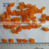 dried fruit yellow peach dices