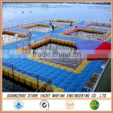 plastic floating pontoon cubes fish farming cage