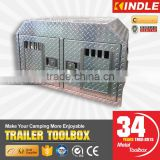 Factory wholesale aluminum diamond plate pet house travel transport dog cage                                                                         Quality Choice