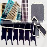 Die cutting pet film & adhesive tape rhinestones rhinestone leather sheets for electronics