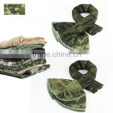 Camouflage veil Paintball neckchief Arab Shemagh Tactical head wrap Military Mesh sniper cover headscarf Breathable CL29-0025WL