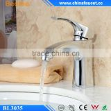 Beelee BL3035 Solid Brass Faucet Bathroom Single Handle Basin Mixer                                                                         Quality Choice
