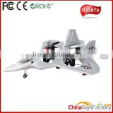R22670 2.4G 4CH 6 Axis Gyro RC Plane with Camera Radio Controlled Planes Jet