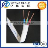 High quality 2 cores / 3 core BVVB flat cable PVC Insulated and sheathed 300/500V