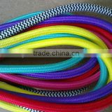 colored braided electrical wires/cotton textile wires                                                                         Quality Choice
