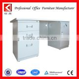 office desk leather stationery set high quality execturive desk steel tube frame computer desk