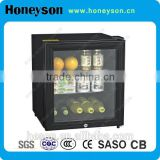 Hotel Absorption 40l mini bar fridge with glass door                                                                         Quality Choice