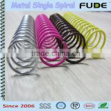 FUDE Iron metal single spiral---nylon coated wire                                                                         Quality Choice