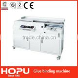 HOPU A3 book glue binding machine A4 book glue binder equipment