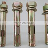 hebei expansion fastener sleeve anchor bolt with hex nut