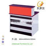 Beauty Salon Small Reception Desk Portable High Quality P-35