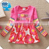 (G641) 2015 kids wear girls frocks baby clothing fall children's clothing baby casual child dresses