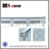 SC10 PVC plastic flexible window dryper hardware curtain rail