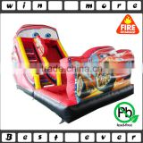 2016 hot sale manufacturer giant cars inflatable water slide for adults, water slide park games prices for sale