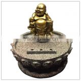 Resin chinese lucky buddha Incense sticker holder, Stick Incense Burner