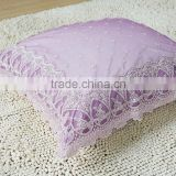 hot sale chinese traditional embroidery and luxury comfortable silk lace chair sofa cushion pillow case