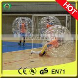 High quality PVC/TPU bubble ball football,ubble football / loopy football match
