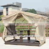 INquiry about Luxury 4-seat swing chair garden, swing chair with mosquito net