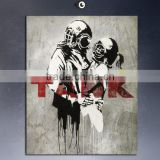 POP95 Decoration Banksy wall sticker for living room