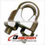 Alibaba express Dawson Brand EN13411-5/US/Galv. stainless steel Malleable wire rope clip