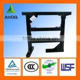 Plastic coating cable tray support