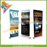 Exhibition display aluminum frame announcement of the screen