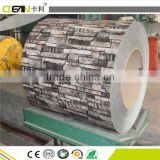 polyester Plastic metallized decorative Pet Printing Film transfer metal steel sheet coil plate