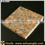 Natural stone maple red big slabs and granite tiles, quarry for sale