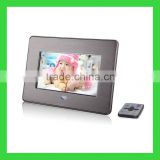 "china manufacture Oem 7"" digital frame with shine piano ABS"