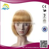 New arrival Heat Resistant Fibre Synthetic topper wholesaler wigs