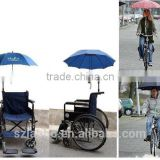 2016 Stroller Bike Electric Bicycle wheelchair Adjustable Umbrella Handlebar Connector Holder