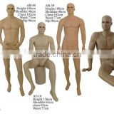 Realistic Europe style full body male mannequins