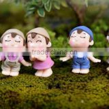 Shadow Box Miniature Fairy Garden Accessories Fashion Home Decoration little small chirdlen kid bonsai terrarium naked figurines