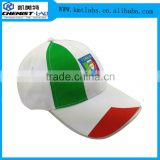 Character Style and Adults Age Group Custom LED Baseball cap /hat with Italy flag Image