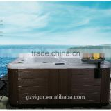 2015 popular hydro spa hot tub,outdoor whirlpool spa,air jet massage outdoor spa hot tub