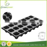sprouting plastic seeding tray with drainage holes
