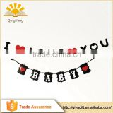 wedding anniversary banner party string bunting for Valentine's Day