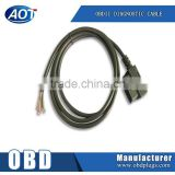 Wholesale Kinds Car Connectors OBD-II OBD2 16Pin Male Plug Socket cable Fly Lead OBD 2 16 PIN Plug Wire Open End