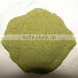 dehydrated green asparagus powder