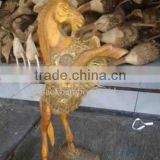 Bamboo Root Craft Horse