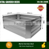 Galvanised Raised Garden Bed