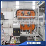 PVC and ASA/PMMA compound corrugated roof tile making plant/PVC ASA Pmma glaze roofing plate production line