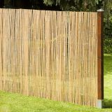 Factory direct eco-friendly natural high quality popular garden cheap price split bamboo fence