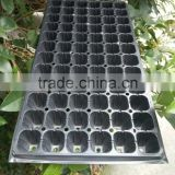OEM PS Plastic Seed Starting Grow Germination Tray for Greenhouse Vegetables Nursery